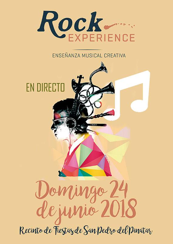 Concierto de la escuela musical Rock Experience en San Pedro del Pinatar